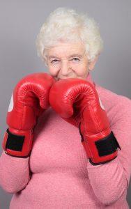 Granny Put Up Her Dukes